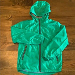 GAP KIDS green anorak jacket XL